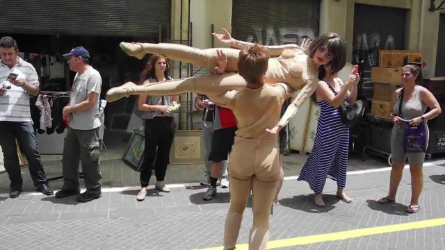 "Nadine Animato dance company ""American Cinema"" show promo"